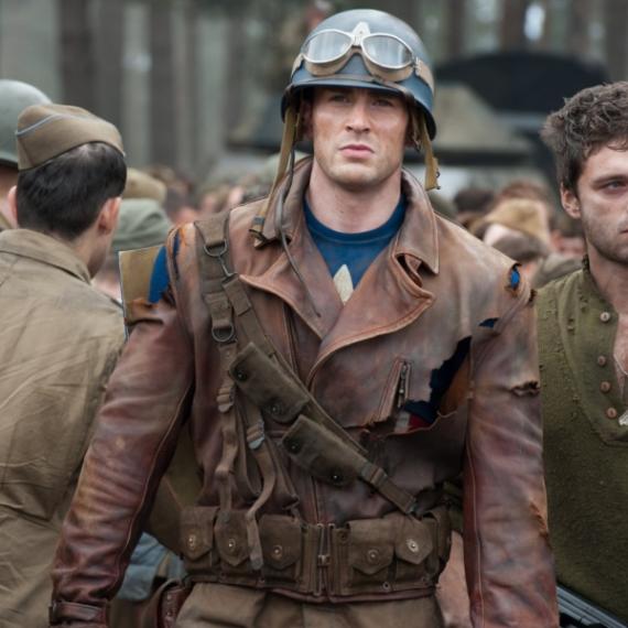 Captain America Zweiter Weltkrieg Kostüm