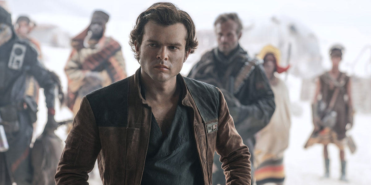 Han Solo aus Solo: A Star Wars Story